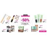 Ezebra: 50% zniżki na prawie 300 produktów L'Oreal Paris