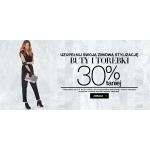F&F: 30% rabatu na buty i torebki