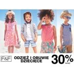 F&F: 30% promocja na odzież i obuwie dziecięce