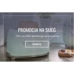 Fabryka Form: 15% rabatu na sprzęt kuchenny AGD marki SMEG