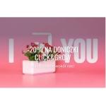 Fabryka Form: Walentynkowa promocja 20% zniżki na doniczki ClickAndGrow