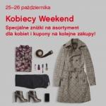 Kobiecy Weekend w Factory Warszawa, Kraków, Wrocław 25-26 października