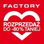 Factory Wrocław: rozprzedaż do 80% taniej