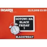 Black Friday Fasardi: 25% rabatu na odzież damską, męską oraz dziecięcą