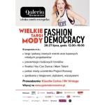 Targi Mody Fashion Democracy w Krakowie 26-27 lipca 2014