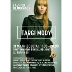 Targi Mody Fashion Democracy w Warszawie 31 maja 2014