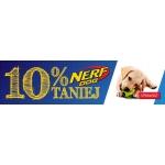 Fera: 10% rabatu na zabawki dla psów NERF Dog