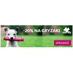 Fera: 20% rabatu na gryzaki dla zwierząt marki comfy