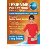 Jesienne pokazy mody w Focus Mall w Bydgoszczy 11 października 2014
