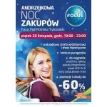 Andrzejkowa Noc Zakupów w galerii Focus Mall w Piotrkowie Trybunalskim 28 listopada 2014