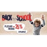ForPro: 25% zniżki na plecaki i worki szkolne