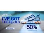 ForPro: 50% zniżki na sportową odzież i obuwie w kolorze niebieskim