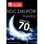 Noc Zakupów w galerii Alius w Ostrołęce 12 grudnia 2014
