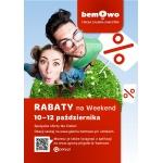 Weekend Rabatów w warszawskiej galerii Bemowo 10-12 października 2014