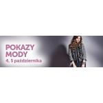 Pokazy Mody w szczecińskiej galerii Kaskada 4-5 października 2014
