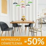 Galeria Limonka: wyprzedaż do 50% rabatu na oświetlenie