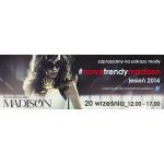 Pokazy Mody w galerii Madison w Gdańsku 20 września 2014