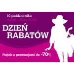 Dzień Rabatów w gdańskim centrum Osowa 10 października 2014