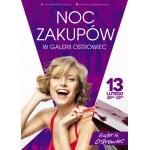 Noc Zakupów w galerii Ostrowiec 13 lutego 2015