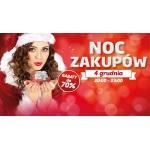 Mikołajkowa Noc Zakupów w galerii Rzeszów 4 grudnia 2015