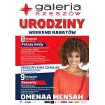 Pokazy Mody i Weekend Rabatów w galerii Rzeszów 8-9 listopada 2014