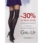 Gatta: 30% zniżki na drugą sztukę z kolekcji rajstop wzorzastych Girl-Up