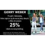 Gerry Weber: 25% zniżki na nową kolekcję