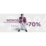 Giacomo Conti: wyprzedaż do 70% rabatu na odzież męską