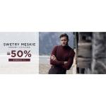 Giacomo Conti: do 50% rabatu na stylowe i modne swetry męskie