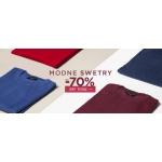 Giacomo Conti: wyprzedaż do 70% rabatu na modne swetry