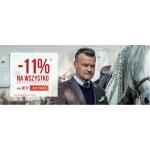 Giacomo Conti: 11% rabatu na wszystko