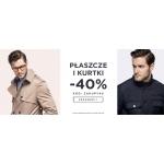 Giacomo Conti: 40% zniżki na płaszcze i kurtki męskie