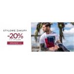 Giacomo Conti: Stylowe Zakupy 20% rabatu na odzież męską