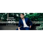 Giacomo Conti: 40% rabatu na lniane garnitury męskie