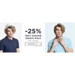 Giacomo Conti: 25% rabatu przy zakupie dwóch koszulek polo