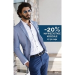 Giacomo Conti: 20% zniżki na wszystkie koszule