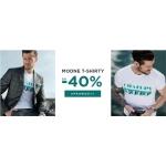 Giacomo Conti: wyprzedaż do 40% rabatu na modne t-shirty męskie