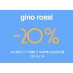 Gino Rossi: 20% zniżki na buty i torby