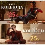 Gino Rossi: 25% zniżki na buty i torby z kolekcji jesień 2018