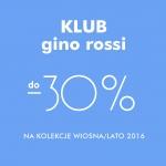 Gino Rossi: do 30% zniżki na kolekcję wiosna lato 2016 dla klubowiczów