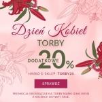 Gino Rossi: z okazji Dnia Kobiet dodatkowe 20% rabatu na torby z kolekcji Outlet i Sale
