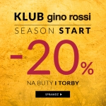 Gino Rossi: 20% rabatu na buty i torby z kolekcji jesień-zima 2017/2018 dla klubowiczów