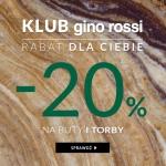 Gino Rossi: 20% zniżki na buty i torebki z kolekcji jesień-zima 2017