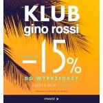 Gino Rossi: dodatkowe 15% rabatu do wyprzedaży