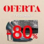 Gino Rossi: do 80% rabatu na buty, torby i akcesoria