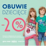 Gino Rossi: 20% rabatu na obuwie dziecięce