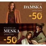Gino Rossi: 50% zniżki na obuwie damskie i męskie z kolekcji jesień/zima