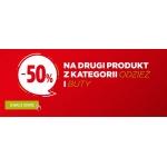 Go Sport: 50% rabatu na drugi produkt z kategorii Odzież i Buty