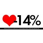 Goshico: Promocja Walentynkowa 14% zniżki na kolekcję Vintago