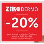 Greenpoint: 20% rabatu na zakupy w Ziko Dermo